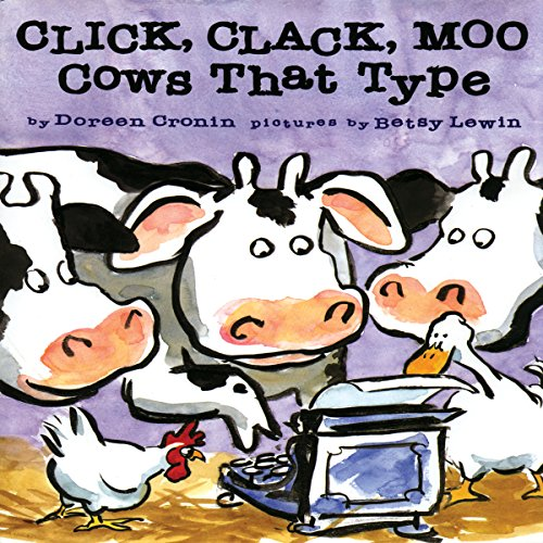 Click Clack Moo: Cows That Type audiobook cover art