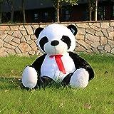 Joyfay 120cm Giant Panda Bear 47' Large Bear Big Stuffed Plush Toy Best Gift for Birthday Christmas Valentine Anniversary