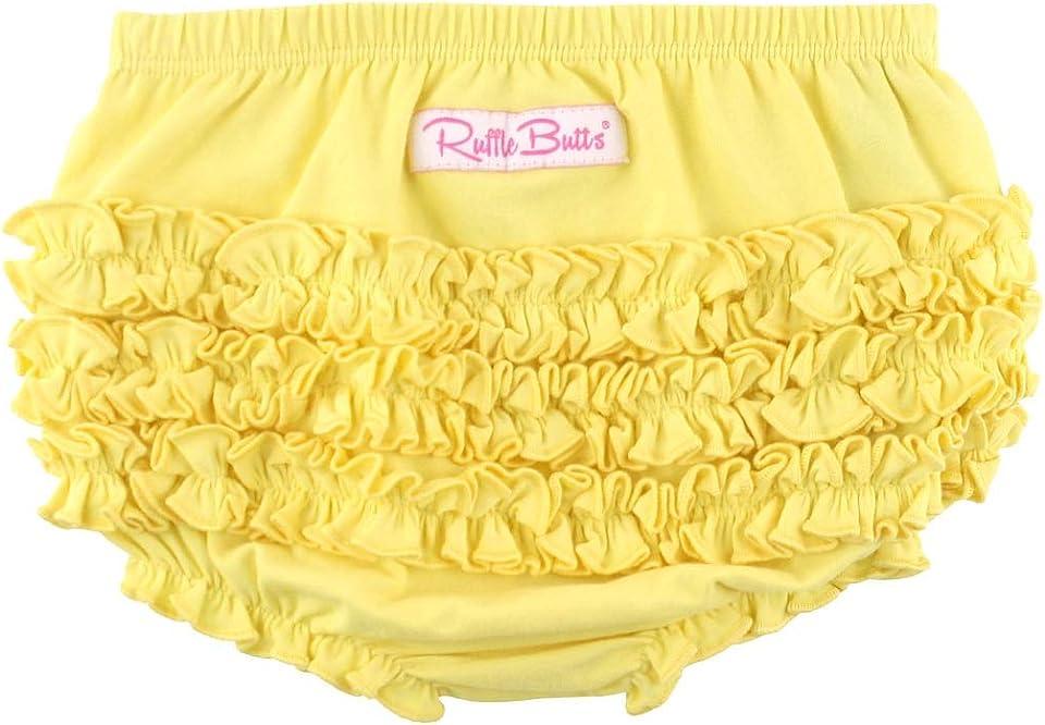 Baby/Toddler Girls Knit RuffleButt Bloomer