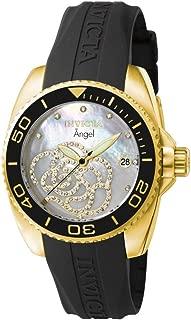 Invicta Womens Quartz Watch, Analog Display and Polycarbonate Strap 489