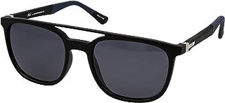نظارات نمط رترو 5026 C:4 للرجال لون ازرق واسود (لون واحد)، (مستقطبة)