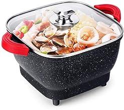 JSMY Pot Ménage Cuisinière Électrique Antiadhésif Wok Électrique Dortoir Multifonctionnel Marmite