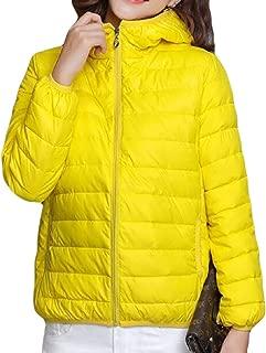 Womens Packable Ultra Lightweight Down Jacket Outwear Puffer Coat Top