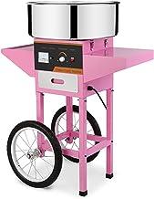 WLL-DP Machine À Barbe À Papa Commerciale avec Chariot, Fabricant De Barbe À Papa pour Fête Et Famille, 20,5 Pouces