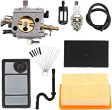 Trustsheer TS400 Carburetor w Tune Up Kit Air Filter Fuel Line for STIHL TS 400 TS400 Concrete Cut-Off Saw Carb Replace HS-274E 4223-120-0600