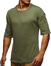 CICIYONER Herren Tshirts Männer Sommer schlank lässig Sport Oansatz Fit Kurzarm Top Bluse Schwarz Armeegrün Grau Khaki Pink M L XL XXL XXXL