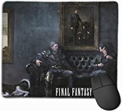 Angela R Mathews Final Fantasy XV-Father and Son Non-Slip Mouse Pad Rectangle Rubber Anime Mouse Pad Gaming Mouse Pad 12x9.8 Inch(30x25 cm)