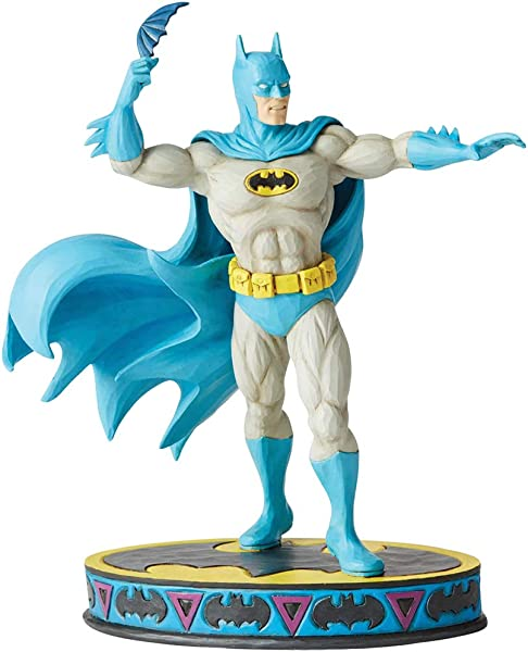 Enesco Jim Shore DC Comics 6003022 Batman Silver Figurine 8 75