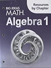 algebra 1 resources by chapter