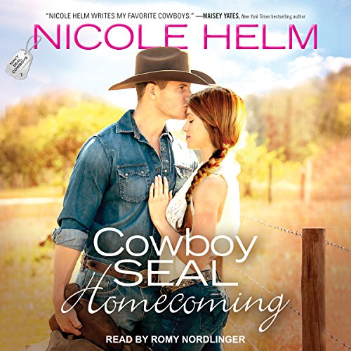 Cowboy SEAL Homecoming audiobook cover art