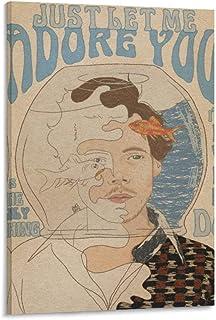 JGRD Harry Styles Poster décoratif sur toile HD 50 x 75 cm