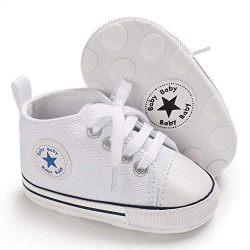 5729cdc4eece Tutoo Unisex Baby Boys Girls Star High Top Sneaker Soft Anti-Slip Sole Newborn  Infant