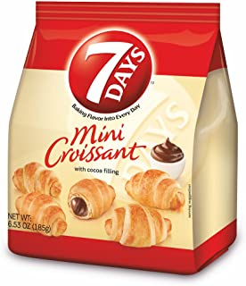 7Days Mini Croissant Chocolate Filling, Single Bag, by 7 Days