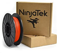 NinjaTek 3DCH05117505 NinjaTek Cheetah TPU Filament, 1.75mm, TPE. 5kg, Lava (Orange) (Pack of 1)