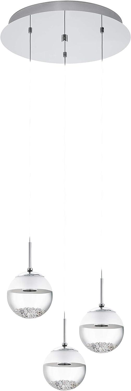 EGLO MONTEFIO 1 Hngeleuchte, Stahl, 5 W, chrom
