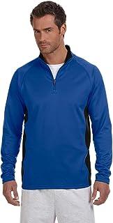 Championパフォーマンス5.4オンスカラーブロックquarter-zipジャケット