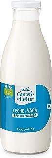 Leche de vaca semidesnatada ecológica 1 l