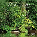 Wisconsin Wild & Scenic 2021 7 x 7 Inch Monthly Mini Wall Calendar, USA United States of America Midwest State Nature