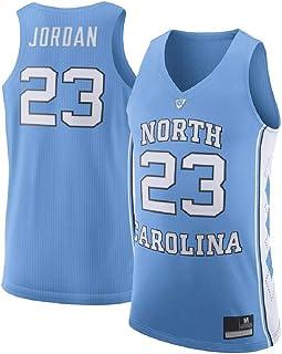 d7b549754 Michael Jordan Men s  23 Light Blue North Carolina Tar Heels Basketball  Jersey