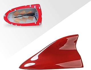 HXKGSMG 高品質のABSカーシャークフィンアンテナにとってキアKIA Sportage,3 4、KX3、KX5、Soul、Sid、KX7、KX-CROSS、オプティマ、ソレント、カーシャークフィンアンテナカバーエアリアル20112012 ...