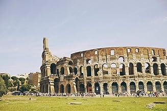 5D DIY volledige ronde boor diamant schilderij Kit, Rome City Scenery, geschenk, handwerk frameless 40x50 cm