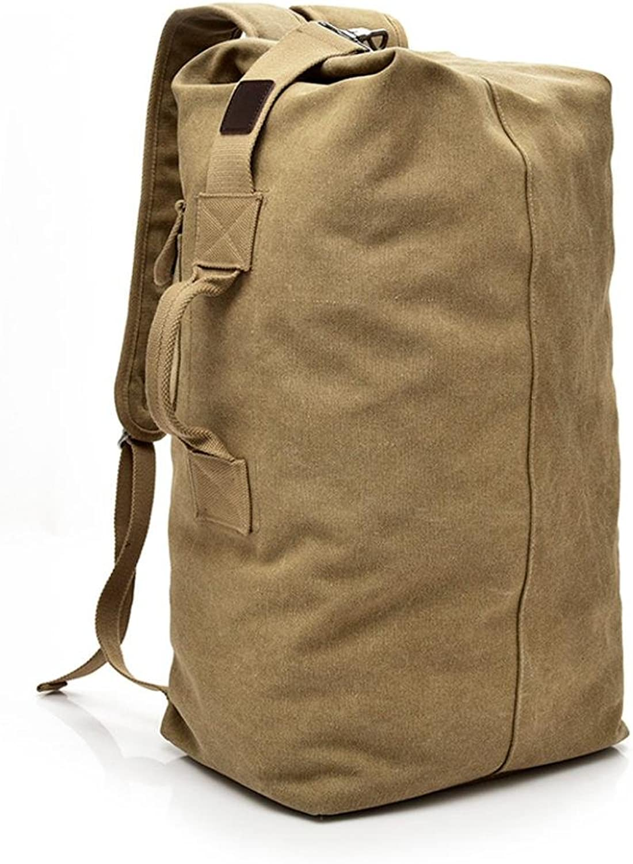 8663f54645d2 Vintage Outdoor Travel Backpack High Capacity Satchel Bag Shoulder ...