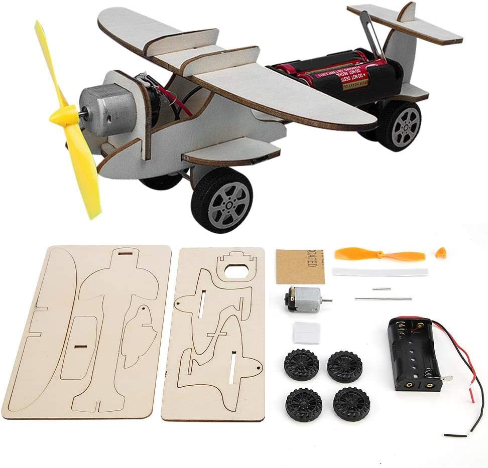 LZKW Glider Kit Bombing new work Toy Free shipping anywhere in the nation Assembly H Handmade Wooden Airplane