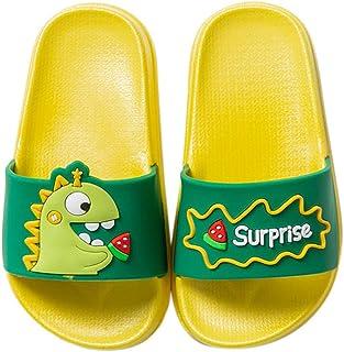 Bdaba78A Billie-Eye-Eilish Kids Summer Slide Slippers Shoes Outdoor Indoor Sandals Boys Girls
