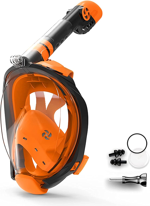 Ranking Sales TOP20 Scuba Diving Mask 180°Anti-Fog Anti-Leak Foldable with Tube a
