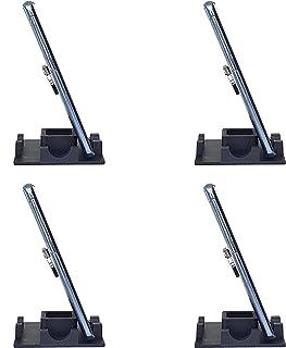 Kit com 4 Suporte Genial de Mesa para Celular ou Mini Tablet Serve em todos os aparelhos iPhone Samsung Motorola LG e outr...