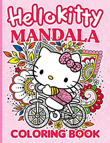 Hello Kitty Mandala Coloring Book: Hello Kitty Mandala Coloring Books For Adult. (Activity Book Series)