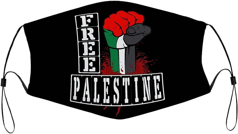 Free Palestinian Face Mask, Neck Warmer Scarf Headband Balaclava Multifunction Unisex Windproof Breathable Washable Bandanas