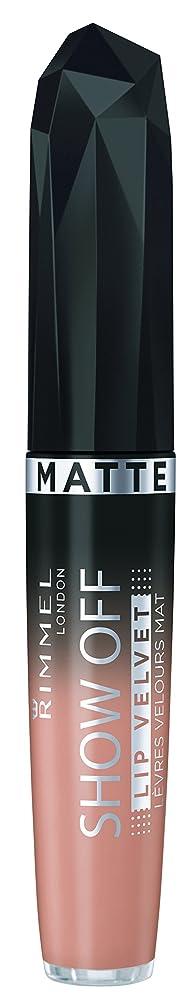 ファブリックパイル敬の念RIMMEL LONDON Show Off Matte Lip Velvet Apollo (並行輸入品)