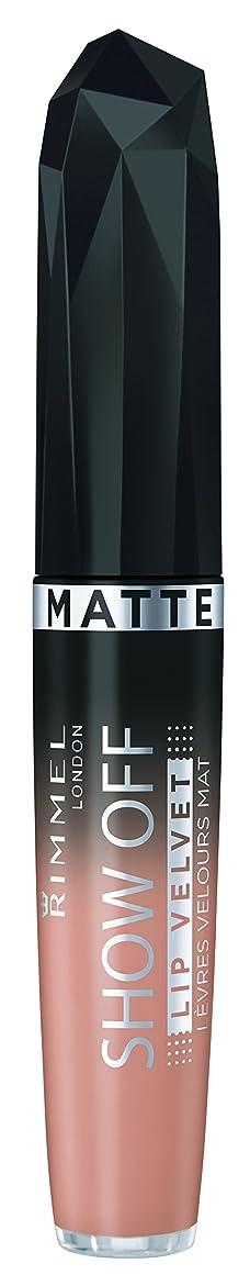 伝導鷲ブッシュRIMMEL LONDON Show Off Matte Lip Velvet Apollo (並行輸入品)