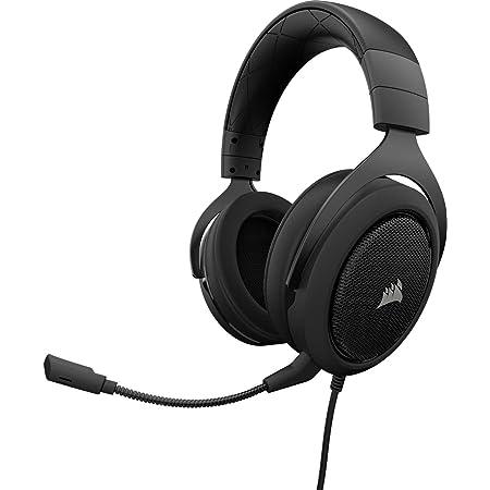Corsair HS60 Surround Auriculares para Juegos, 7.1 Sonido Envolvente, Espuma viscoelástica Almohadillas, Unidireccional Micrófono, Compatible con PC, ...