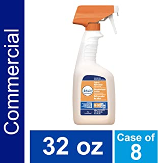 P&G Professional Fabric Refresher Odor Eliminator by Febreze Professional, Bulk Deep Penetrating Refill for Fabrics in Hotels, Restaurants and Businesses, Fresh Clean Scent, 32 oz. (Case of 8) - 10037000032592