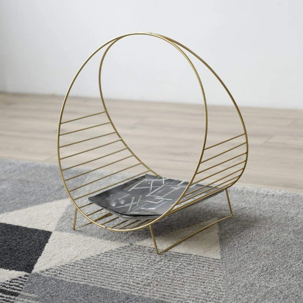 YLCJ Metal Magazine Living Room Rack NEW before selling ☆ Max 45% OFF