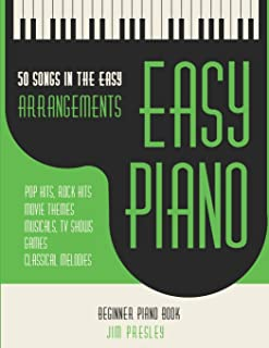 50 Songs In The Easy Arrangements: Easy Piano