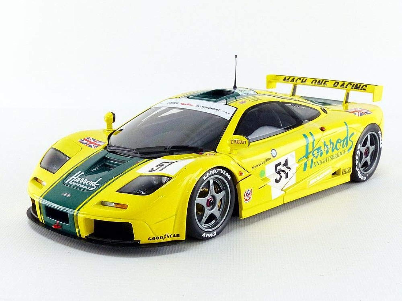 Minichamps 530133551 1 18 Mclaren F1 GTR-Harrods-Wallace Bell Bell-24h Le Mans 1995, Multi