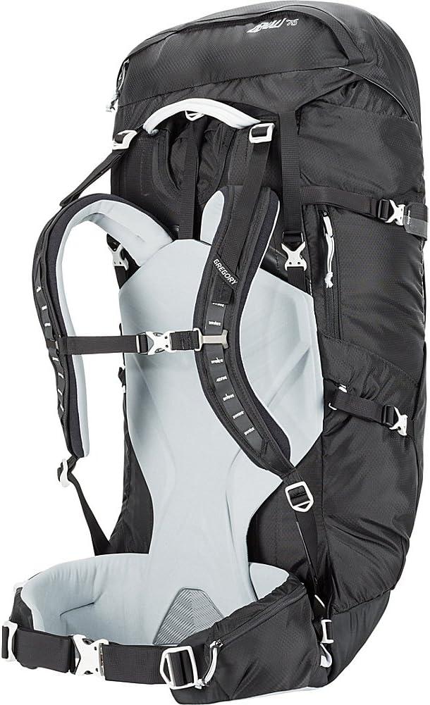 Gregory Mountain Products Denali 75 Liter Backpack Basalt Black