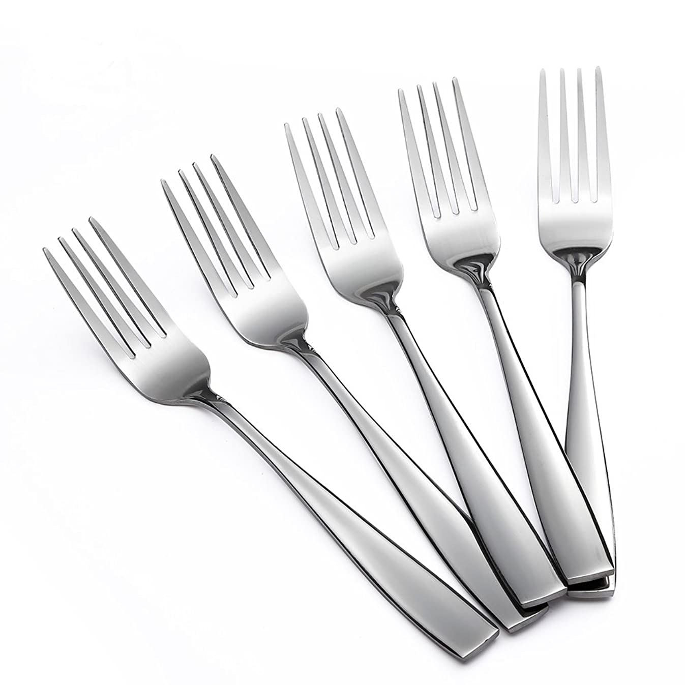 Eslite Stainless Steel Dinner/Salad Forks Set,12-Piece,8 Inches