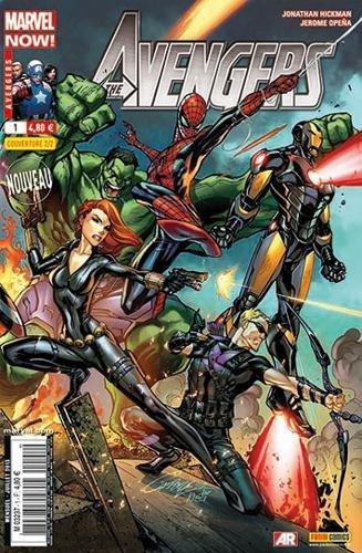 Avengers 2013 001 2/2 (js campbell)