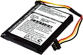 subtel® Batería Compatible con Tomtom One IQ Routes Edition Central Europe, Western Europe, Regional, 4EK0.001.01, Canada 310, 6027A0089521 ICP553443E P11P17-11-S01 900mAh bateria Repuesto Pila