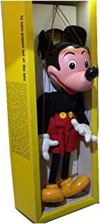 Mickey Mouse Pelham Puppet Early 60s Marionette New in Box Collectible