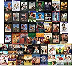 Ultimate Hallmark 50 Film DVD Movie Collection: Includes Hallmark Hall of Fame, When Calls the Heart, Sarah Plain and Tall Trilogy, The Note Trilogy, Loving Leah - Christmas, Holiday, Drama, Romance a