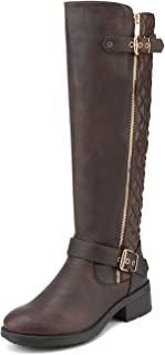 Women's Knee High Riding Boots (Wide-Calf)