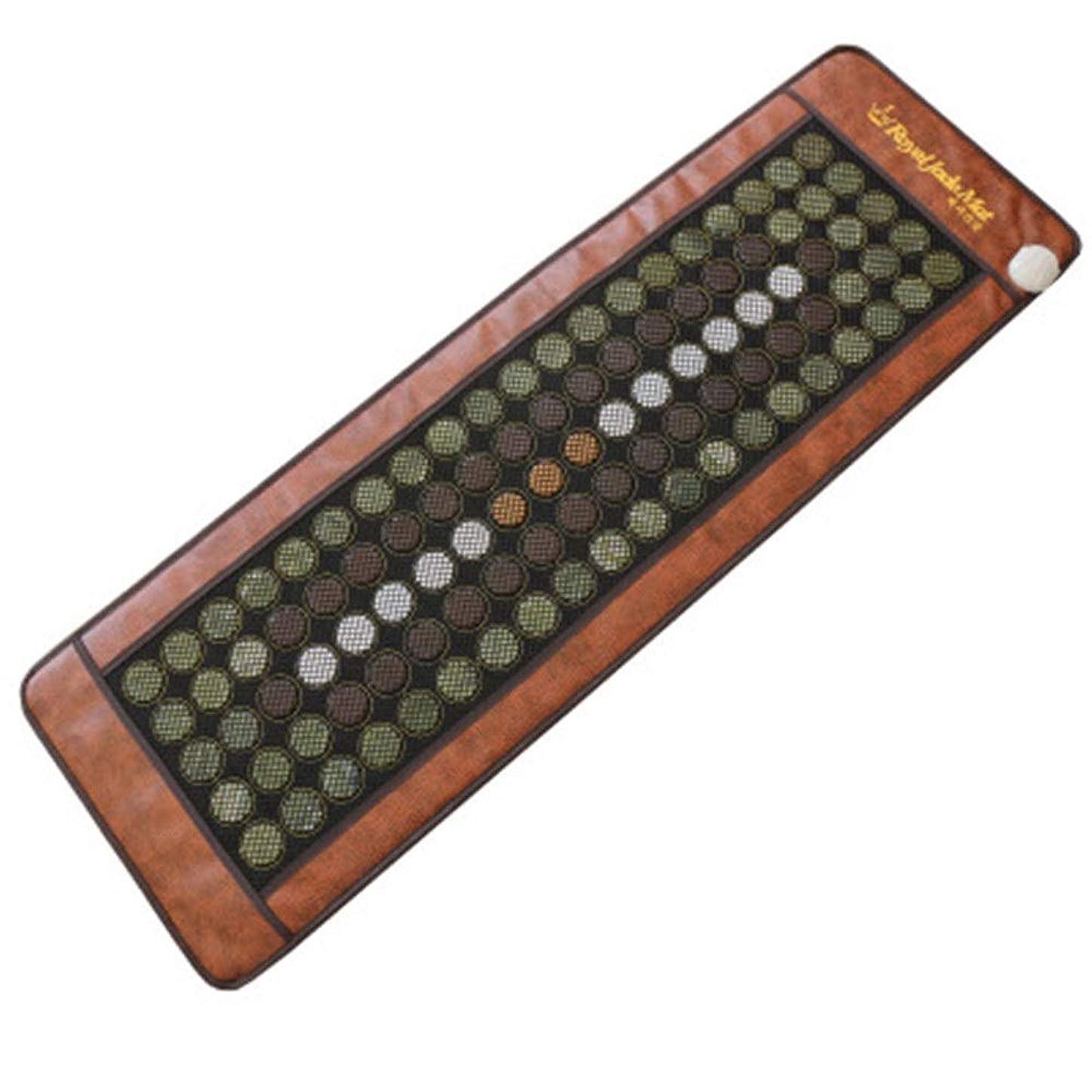 マッサージマットレス 美容院のマッサージのマットレスの携帯用ボディ暖房のマッサージのヒスイのマットレスは快適な家の完全なマッサージを楽しむことを可能にします (色 : Picture, サイズ : 50x150cm)