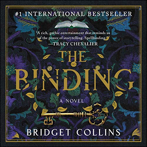 The Binding audiobook cover art