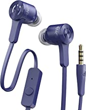 MuveAcoustics Spark MA-0025FB Extra Bass in Ear Headphones with Microphone (Flagship Blue)