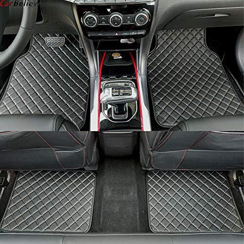 Piaobaige Alfombrillas para Mercedes W245 W169 Ml W163 W164 W246 SLK R171 CLS W219 W212 W245 Cla Gla Accesorios Alfombra Alfombra